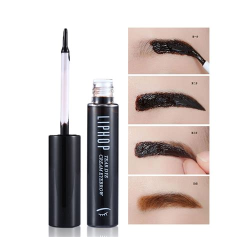 liphop peel off eyebrow tint makeup tattoo eyebrow gel