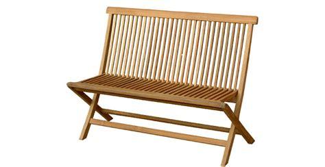 Folding Patio Bench by Folding Bench Ashifa Jati