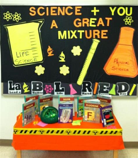 biological themes in film class story laboratory science themed library decor