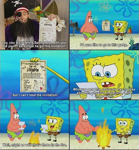 Kaos Spongebob Best Coll 30 Tx 24 spongebob jokes that are still smosh
