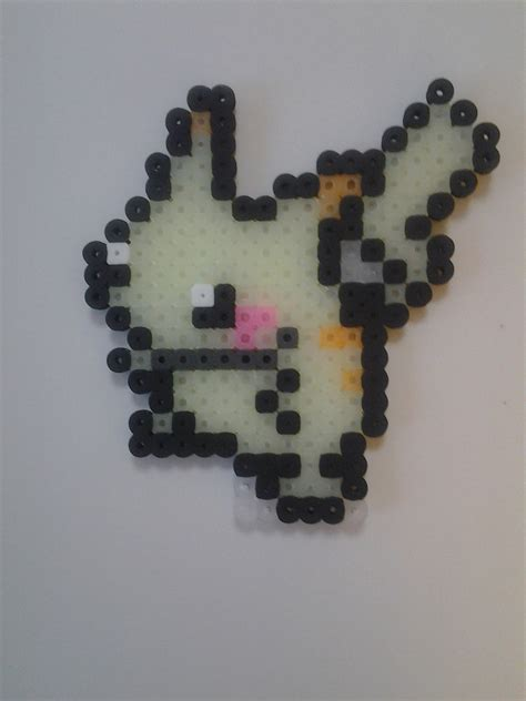 glow in the perler glow in the perler bead pikachu by seanacid on deviantart
