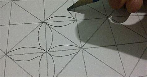 desain batik pemula gambar batik yang mudah digambar di kertas batik indonesia