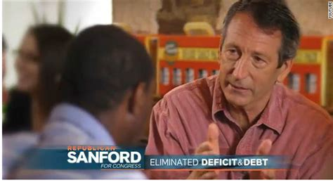 a new year television ad features a in a parade sanford features record in second tv ad cnn political