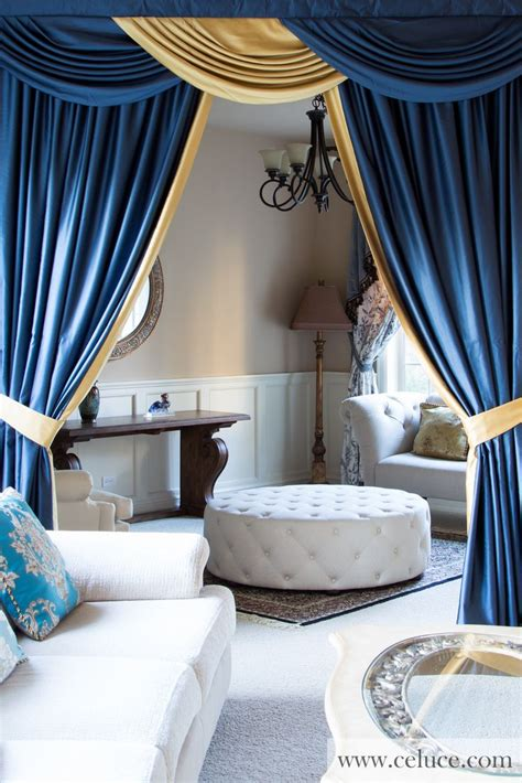 blue swag curtains 25 best ideas about valance curtains on pinterest