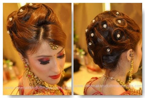 Indian Wedding Hairstyles For Hair Step By Step by Indian Wedding Hairstyles For Medium Hair Step By Step