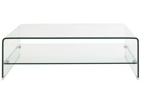 Tables De Salon En Verre 1635 tables de salon en verre table basse bois blanc et verre