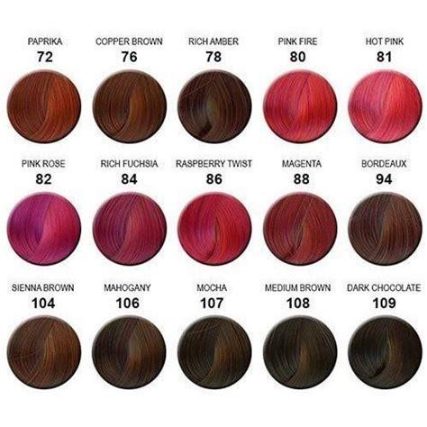 semi perm hair color vs foil creative image adore semi permanent hair color