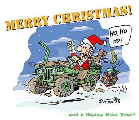 christmas jeep card willys jeep mb christmas card by roberto67 on deviantart
