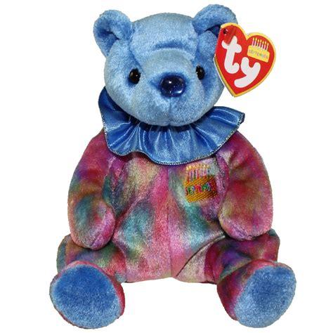 ty beanie baby september the birthday bear 7 5 inch