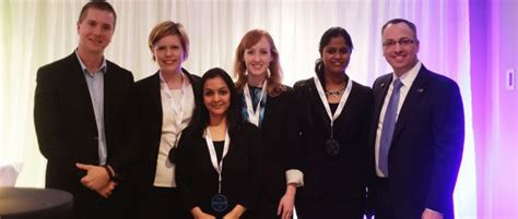 Acg Cup Mba Competition by Telfer Mba Students Win 3rd Place At The P G Cup Telfer