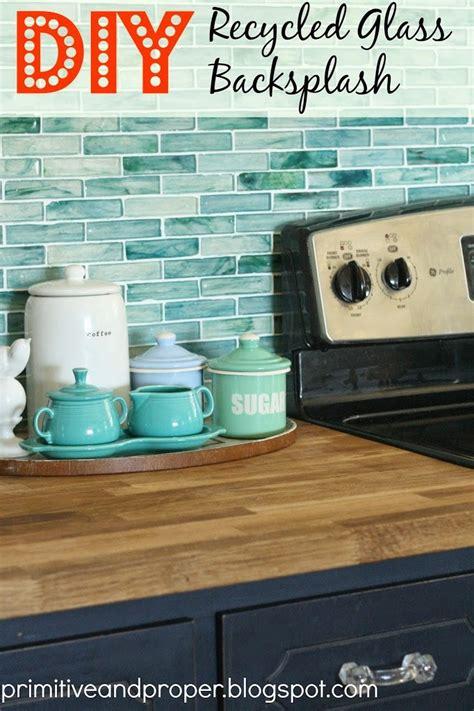 tile shop backsplash diy recycled glass backsplash with the tile shop