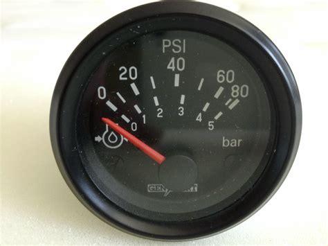 Vdo Presurre Meter vdo 12v pressure cervanculture
