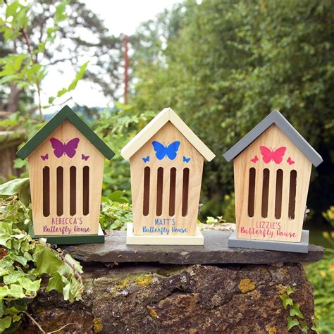 butterfly house personalised wooden butterfly house from jonny s sister uk