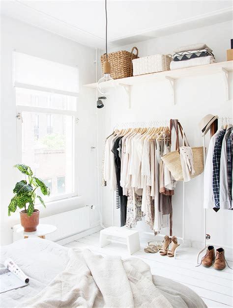 Makeshift Closet by 12 Absolutely Beautiful Makeshift Closets Whowhatwear Au