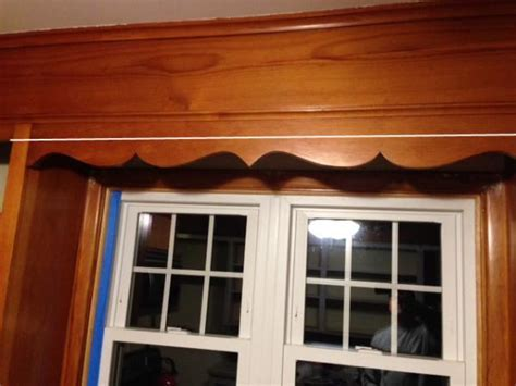 How to cut this decorative piece out of kitchen cabinet