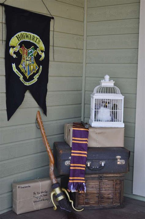harry potter decorations harry potter birthday party ideas photo 7 of 65 catch