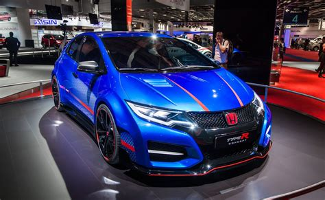 2015 honda civic type r at 2014 paris motorshow