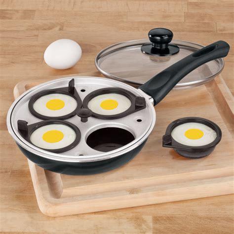 Fry Pan Egg Poacher 4 Holes frying pan with egg poacher insert fry pan egg poacher walter