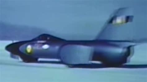 land speed record craig breedlove sets land speed record chicago