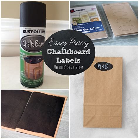 chalkboard paint easy to use diy chalkboard labels mountainmodernlife