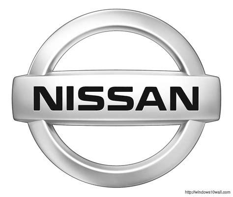 nissan logo wallpaper top brands logo background wallpapers