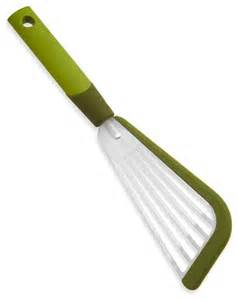 modern kitchen tools kuhn rikon soft edge slotted spatula green modern cooking utensils by factorydirect2you
