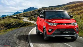 Electric Vehicles 2018 India Team Bhp Rumour All Electric Mahindra Kuv100 To Be
