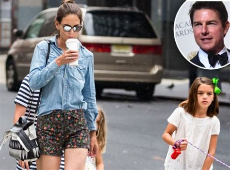 tom cruise and suri 2016 katie holmes to tom cruise keep suri out of showbiz