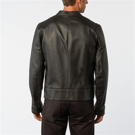 motocross leather jacket motocross leather jacket black 48 porsche