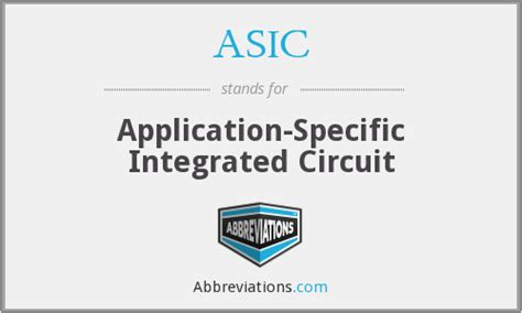 integrated circuit and application asic application specific integrated circuit