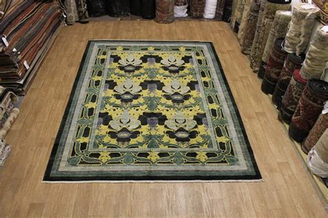 Mission Area Rugs Top Quality 9x12 Mission Style Craft Oushak Area Rug Wool Carpet Ebay