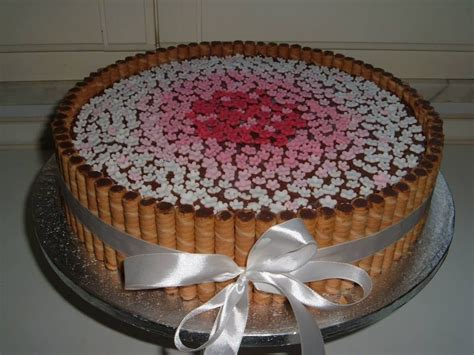 fiori in pdz torta con fiori in pdz cake pdz