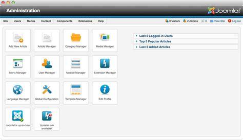 joomla administrator templates joomla administrator