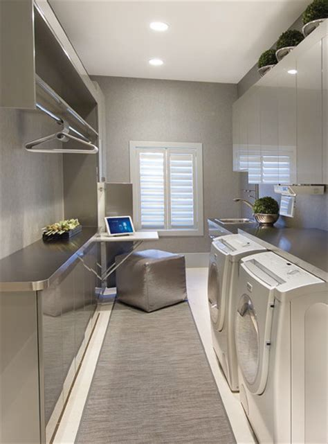 Contemporary Laundry Room Ideas Laundry Room Modern Laundry Room Other Metro By Electronichouse