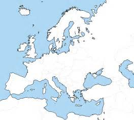 blank map of europe new calendar template site