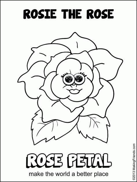 Daisy Girl Scout Petals Colouring Pages Coloring Home Free Printable Scout Coloring Pages Printable