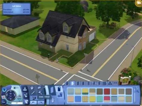how to build a house in sims 3 sims 3 how to build an easy nice house renovating the monotone house youtube