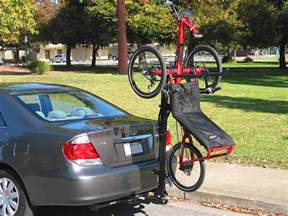 truckee switch hitch rack for recumbent tadpole trikes and