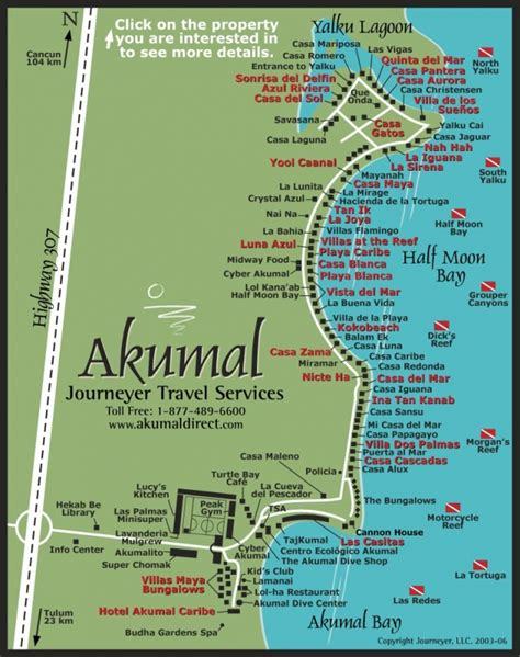 akumal resort map maps of akumal akumal direct reservations