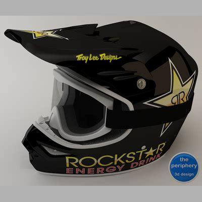 rockstar motocross goggles 3d tld rockstar helmet goggles