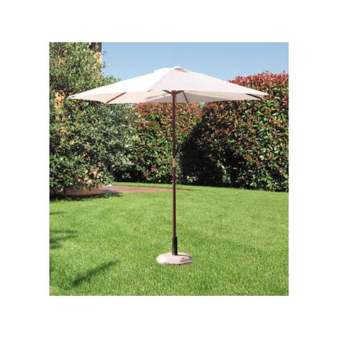 ombrellone per giardino ombrellone bianco 250 cm in legno per giardino brico casa