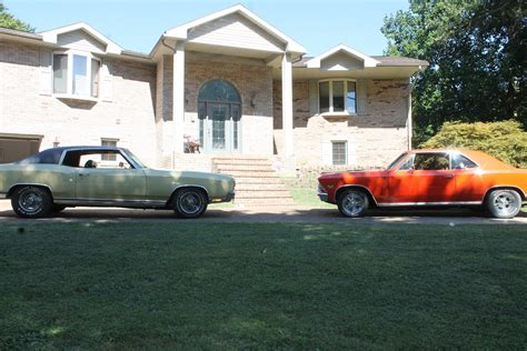 home built two for one chevy musclecar