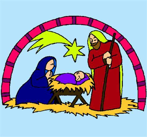 ba 218 l de navidad pesebre infantil para colorear y recortar dibujo de pesebre de navidad pintado por navidad en