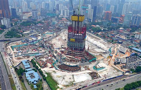 trx city in overdrive to complete projects focus malaysia