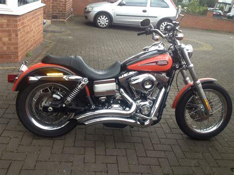 Harley Davidson Hd011 Black Orange 2008 harley davidson fxdl dyna low rider black orange