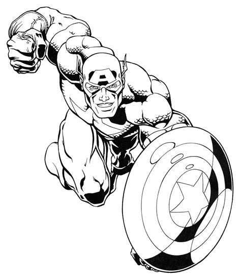 Coloring Book Marvel Super Heroes Colouring Pages Of Superheroes