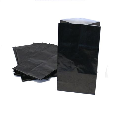 treat bag black paper treat bags