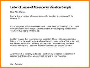 7 how to write a vacation request letter resumed