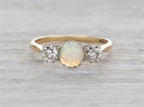 1000 ideas about opal engagement rings on
