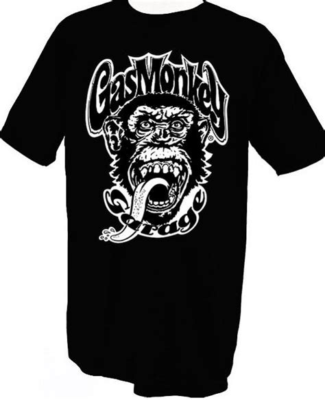 T Shirt Monkey gas monkey garage t shirt monkey business